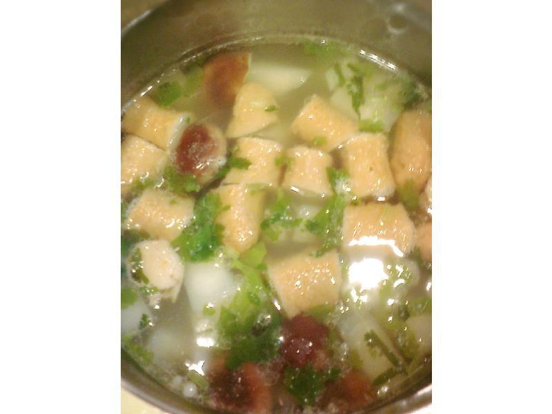 蘿蔔排骨湯(關東煮版)