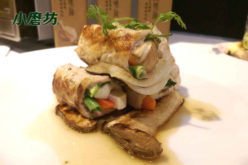 【小磨坊】蒜風杏鮑菇豬肉捲