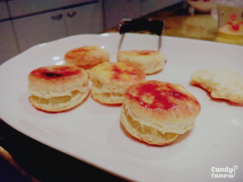 超簡單♥原味司康♥(一般烤箱可烤)