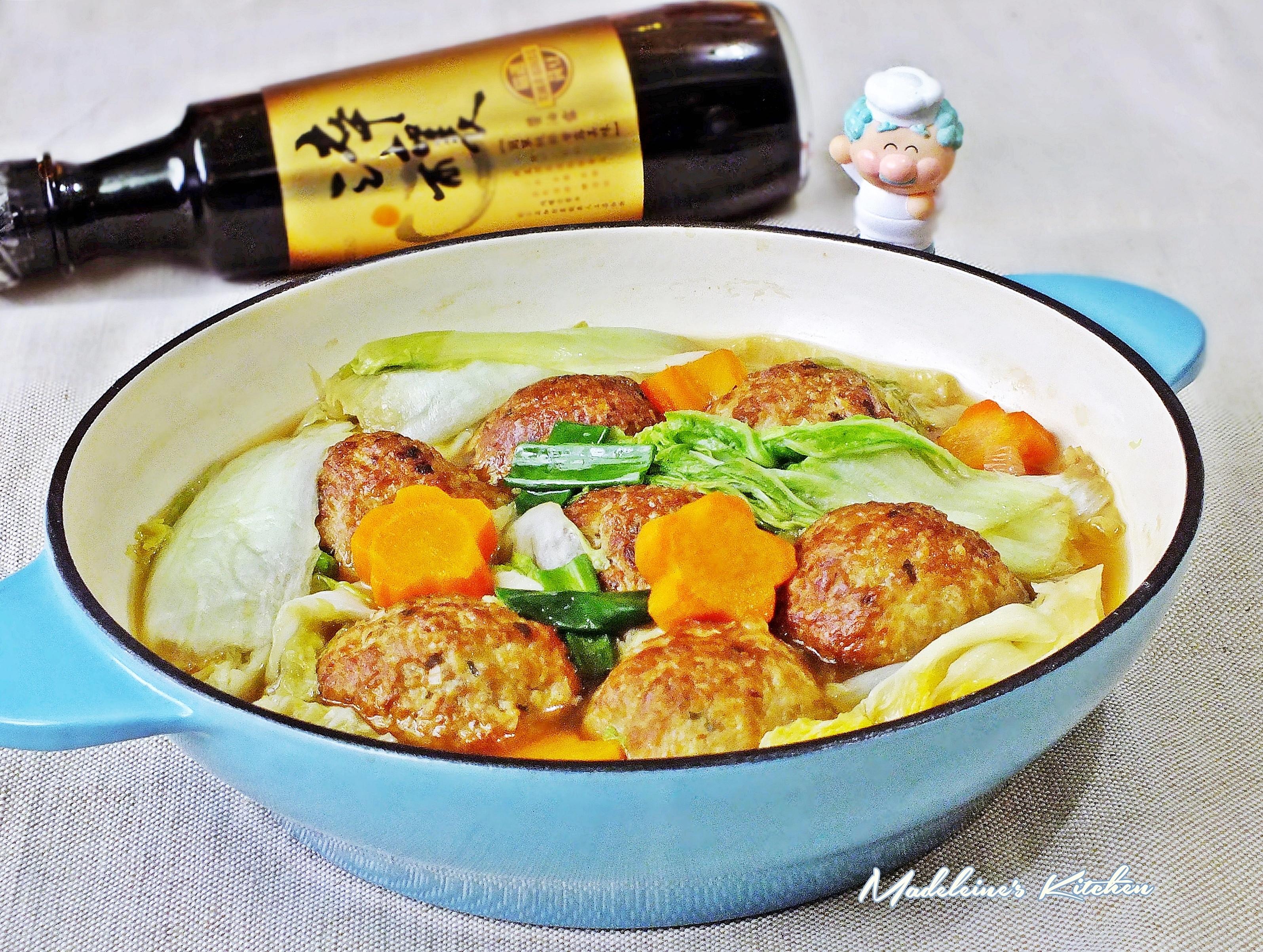 紅燒獅子頭【淬釀巧婦上菜】