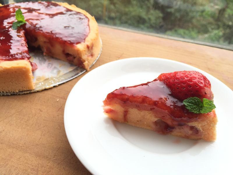 輕盈草莓蛋糕