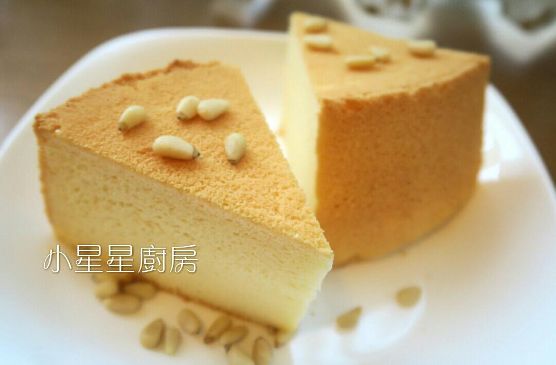 椰奶燙麵戚風蛋糕