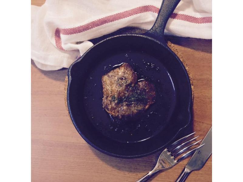 小鐵鍋脆皮豬排