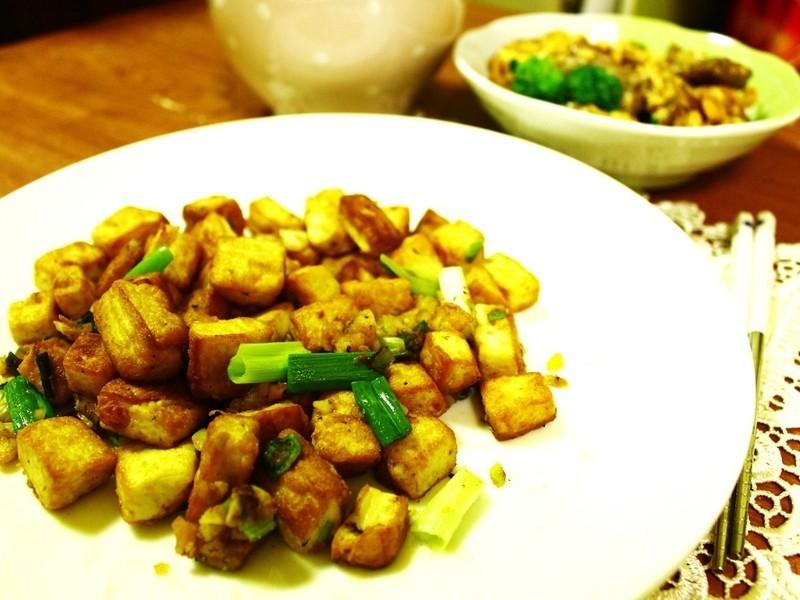 一個人的簡單料理★金沙豆腐★