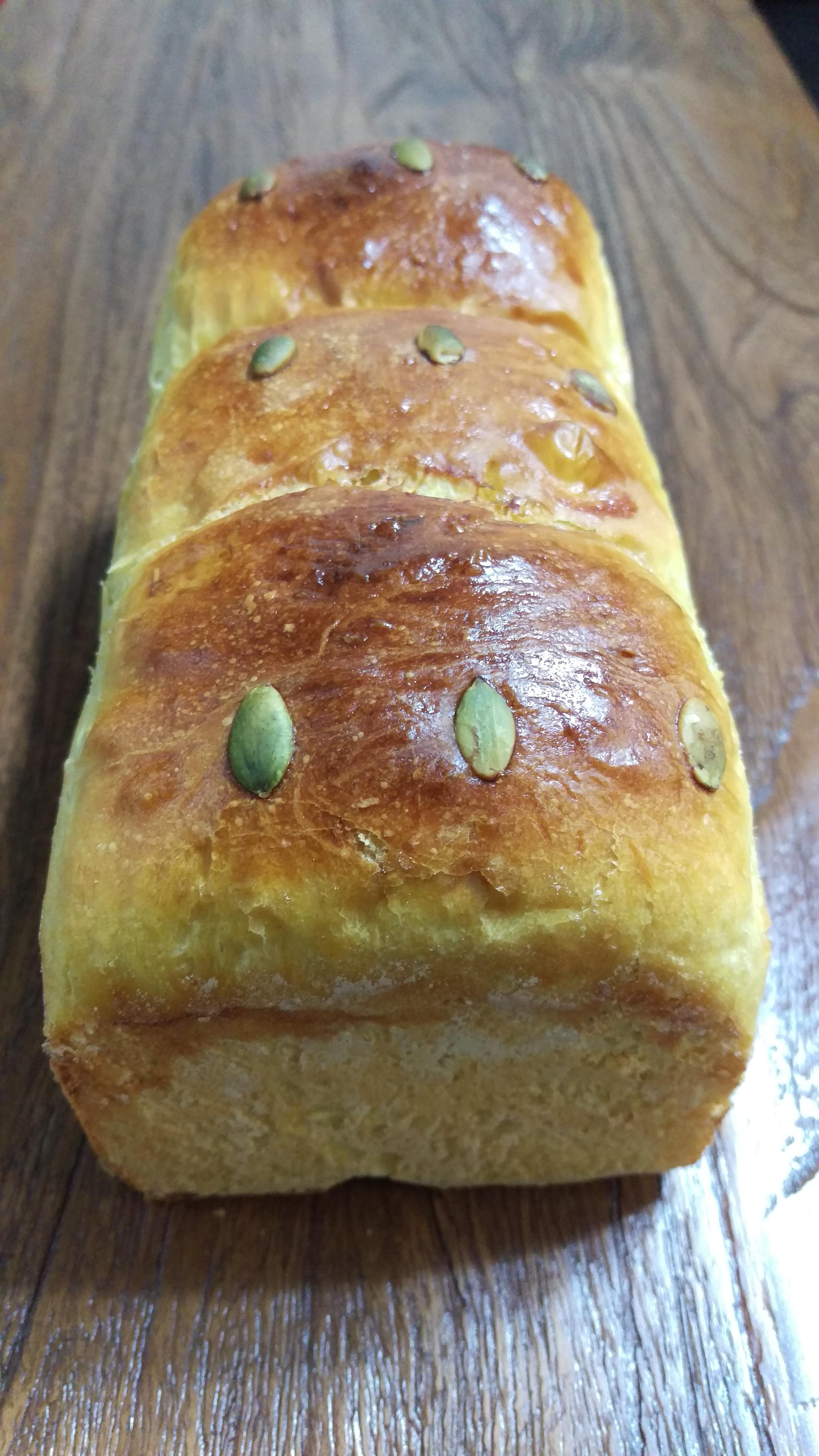 星野酵母南瓜麵包