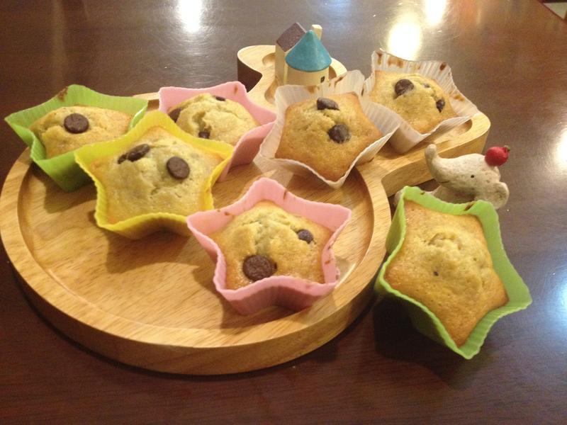 【小李子❤點心時間】星星香蕉蛋糕