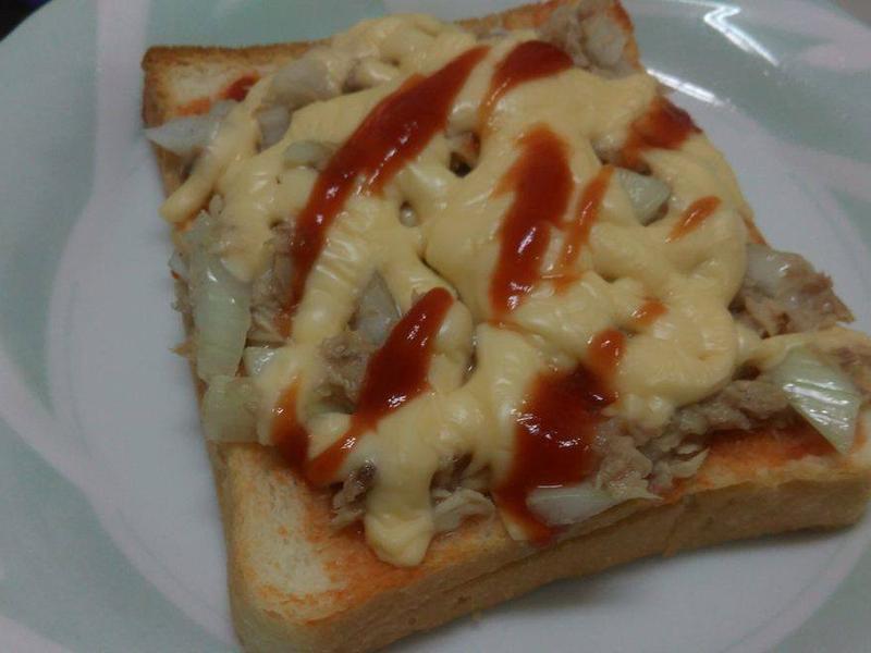 焗烤鮪魚吐司