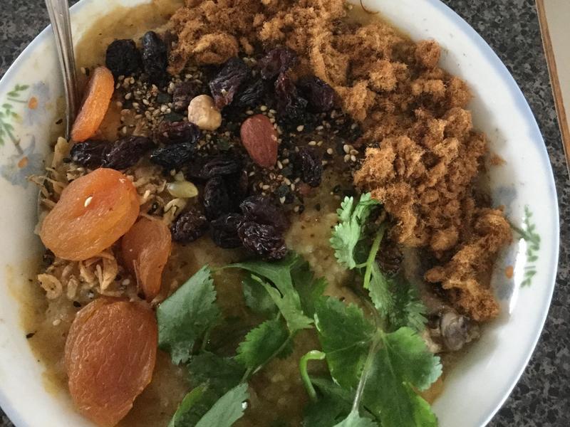火腿綜合蔬菜粥