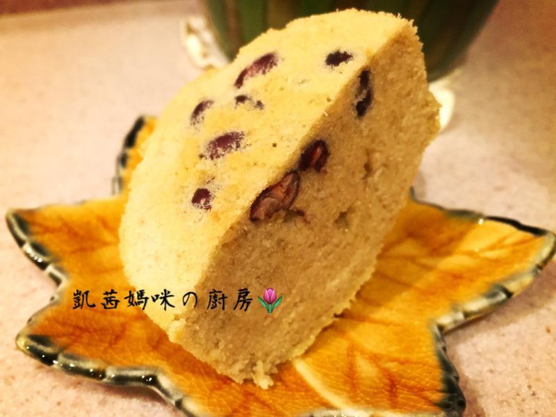 綠茶蜜紅豆蛋糕🎶