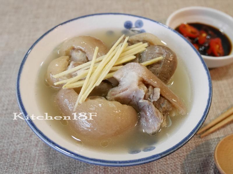 原汁豬腳湯_電鍋料理 名店口味