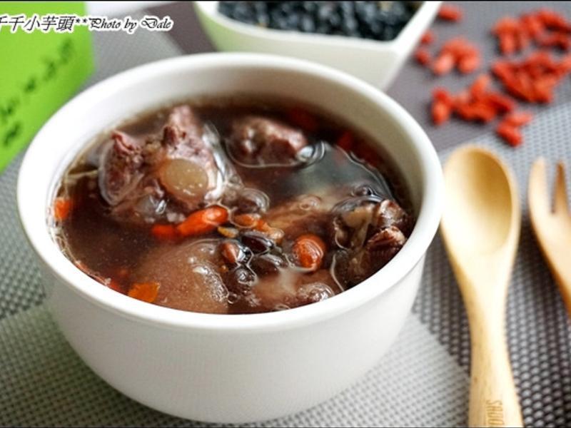 黑豆雪梨排骨湯