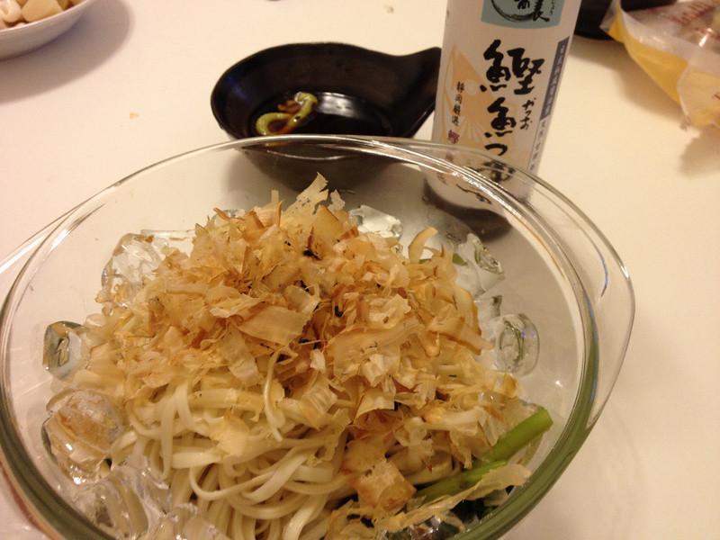 鰹魚涼麵套餐- Polydice 愛料理分享餐第一回