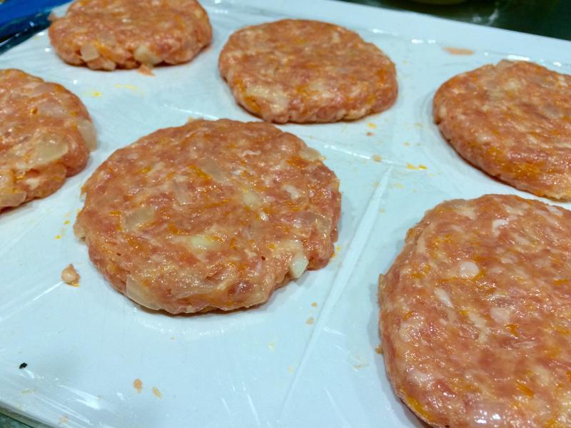 南瓜泥漢堡肉排