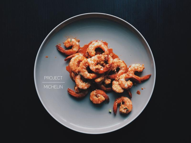 藍鑽級西班牙蒜香橄欖油鮮蝦