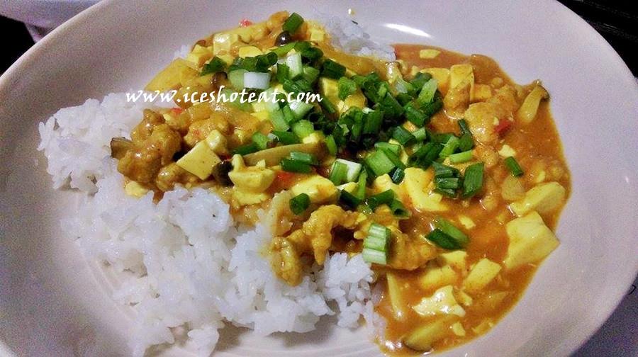 咖哩豆腐燴飯