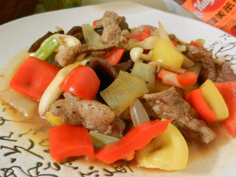 醬燒里肌肉彩色版-蕃茄醬懶人料理