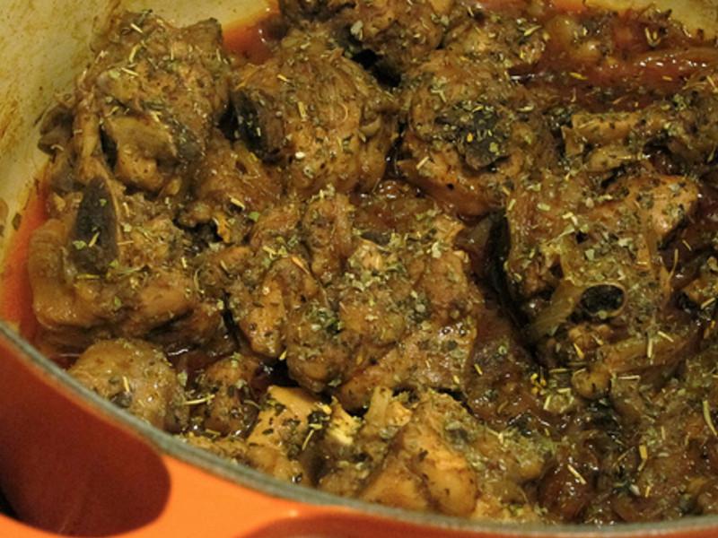 [一鍋料理] 紅酒燒雞