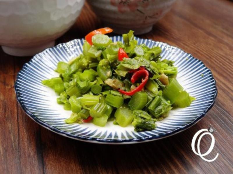 [冬季蔬菜][媽媽的手路菜]衝菜