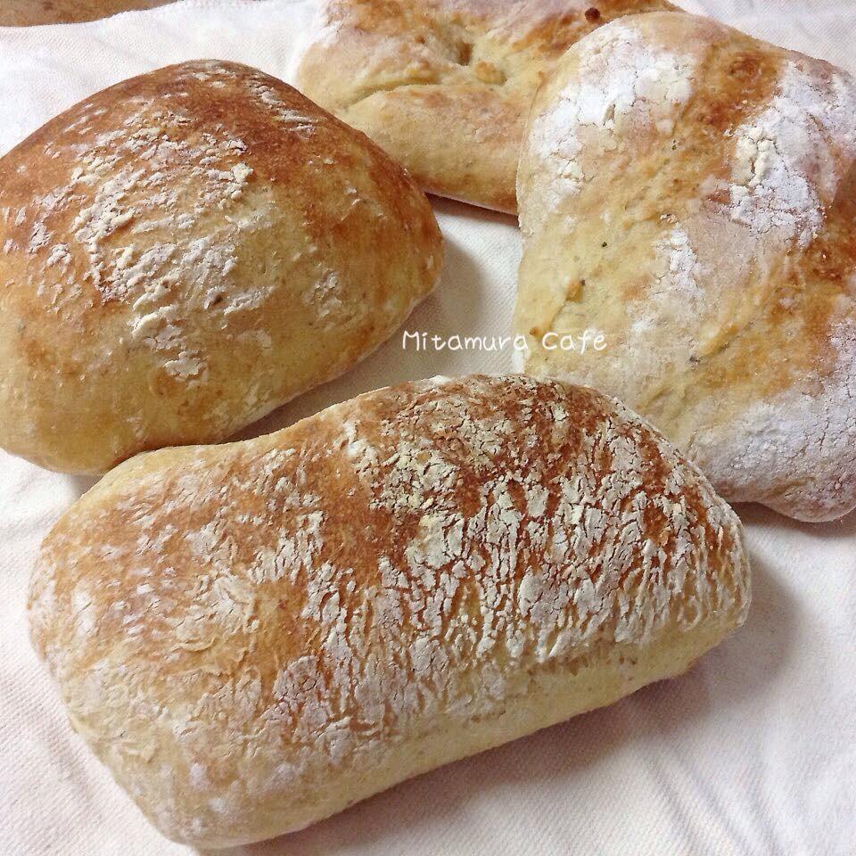 免揉托鞋麵包(義式巧巴達)