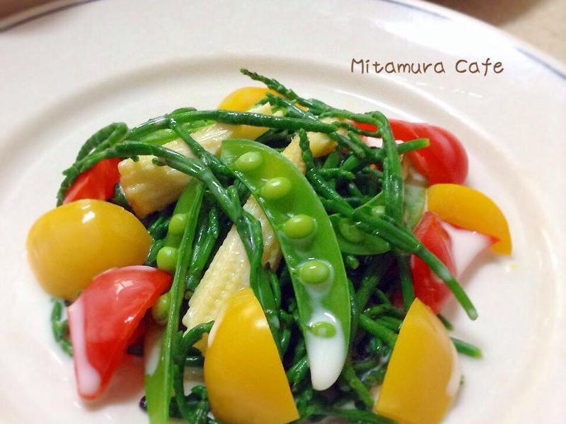 海蘆筍沙拉