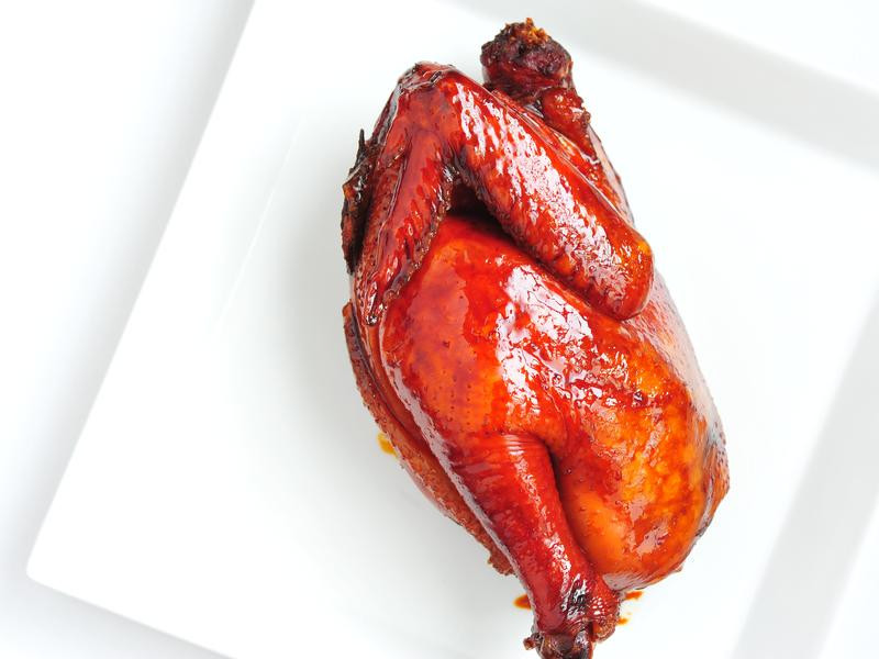 慢煮豉油雞