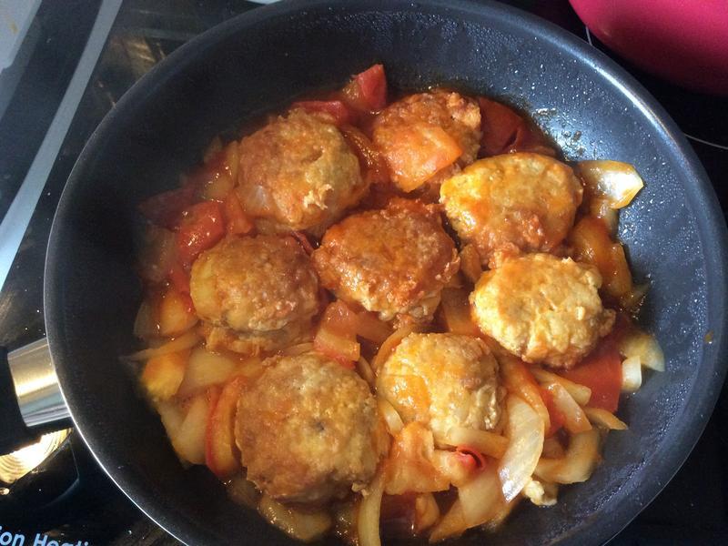 蕃茄燉肉丸