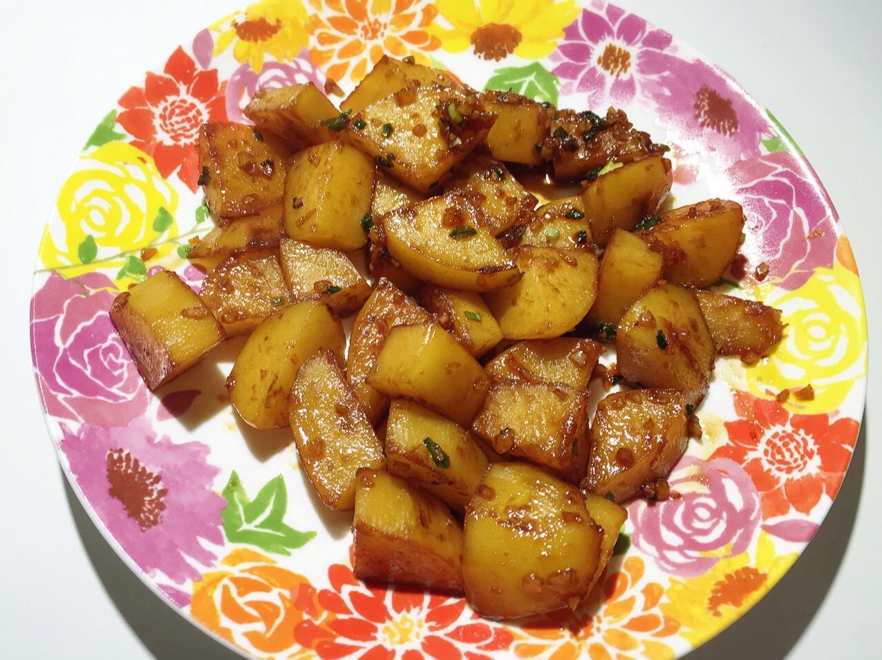 韓式小菜 醬燒馬鈴薯 醬燒土豆