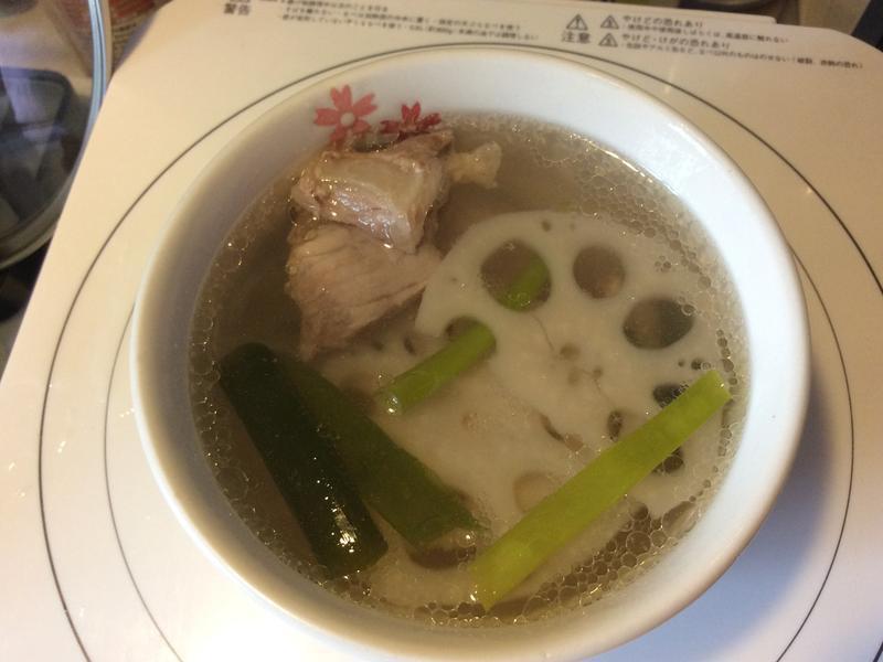 蓮藕排骨湯(電鍋版)