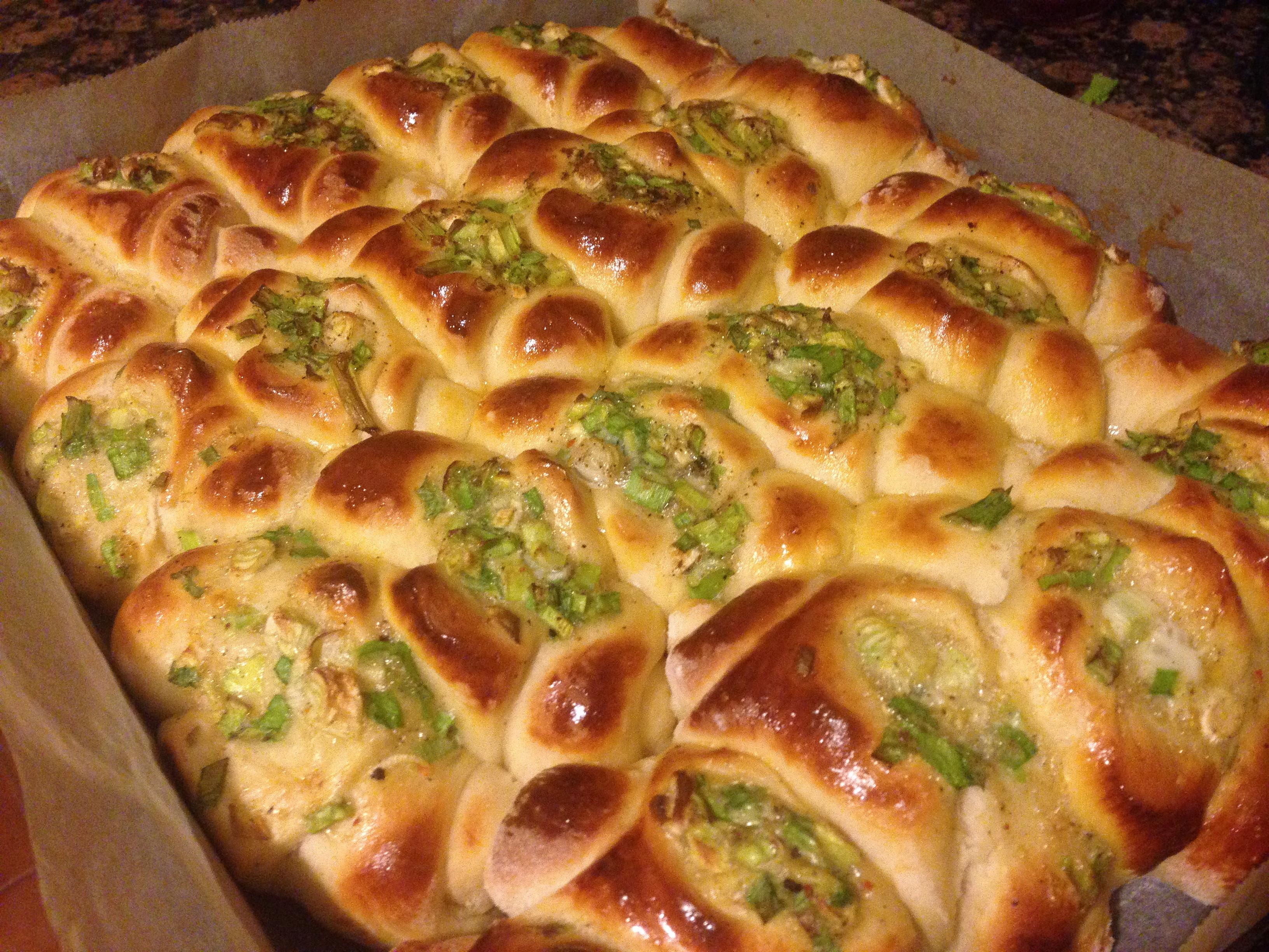 麵包8---台式牛肉蔥花卷
