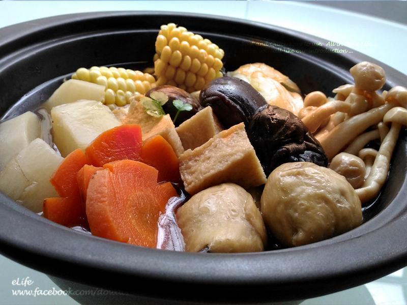 【蔬食湯品】羅漢肉骨茶〔素食料理〕
