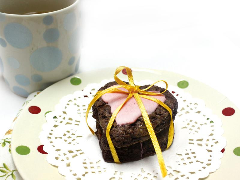 碧姬‧杜芭草莓巧克力司康