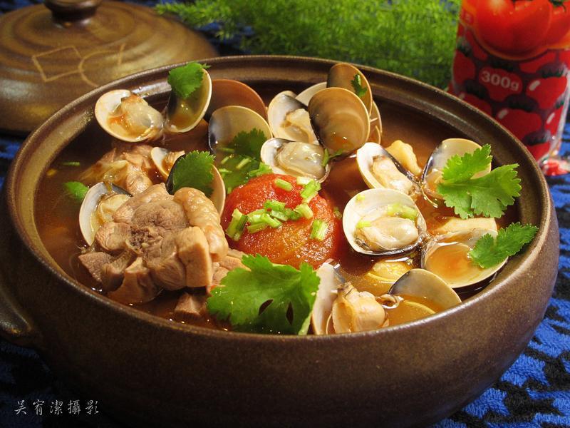 雞肉蛤蜊番茄鍋