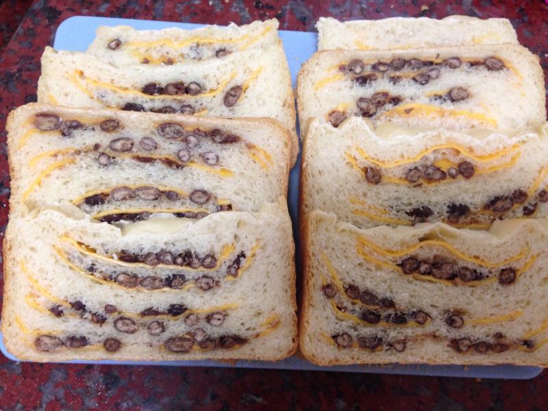 紅豆起司麵包