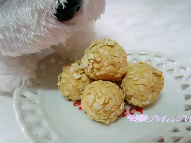 【奶香黑糖燕麥球】-烘焙展西式食譜