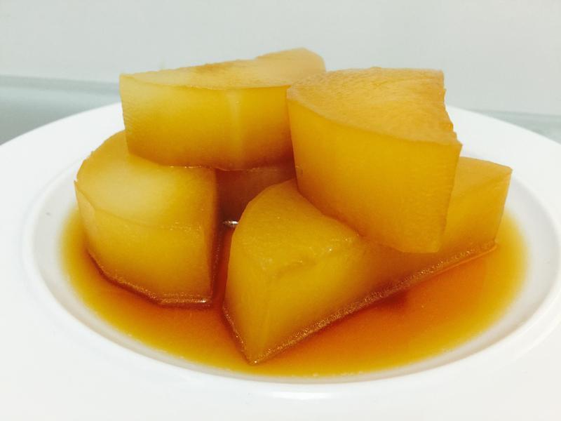 懶人電鍋料理:超入味白蘿蔔