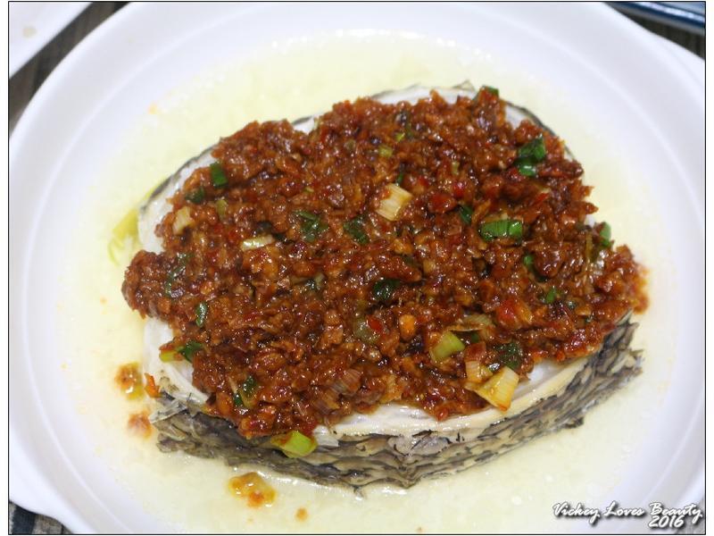 蒜酥辣豆瓣酒香鱈魚