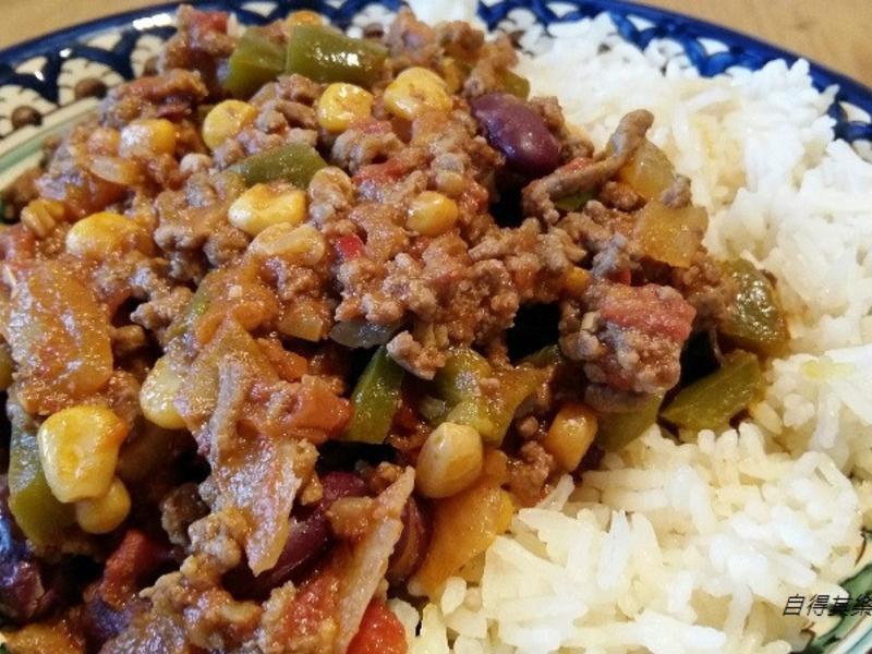辣燉肉醬 chili con carne