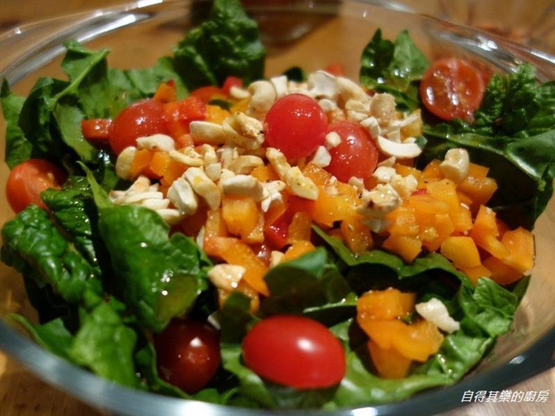 波菜沙拉 Spinach salad