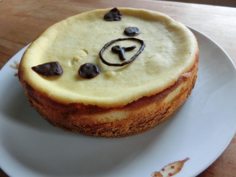 超簡單の起司乳酪蛋糕♥