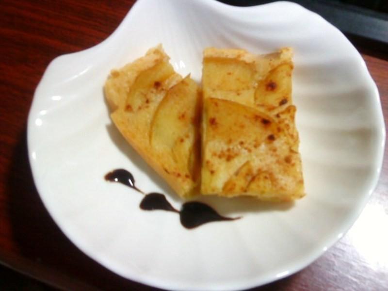 [鬆餅粉食譜]小烤箱小幸福---肉桂蘋果鬆糕