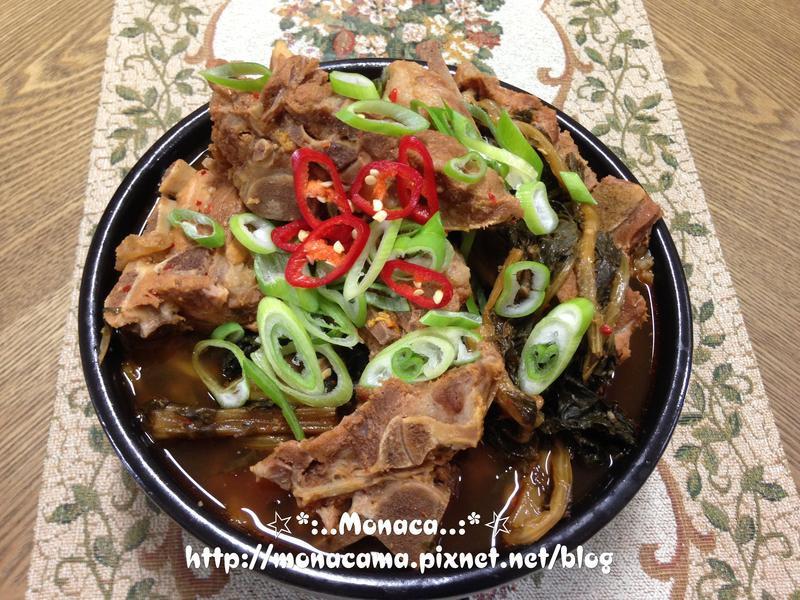 韓式豬骨湯(감자탕)(馬鈴薯排骨湯)