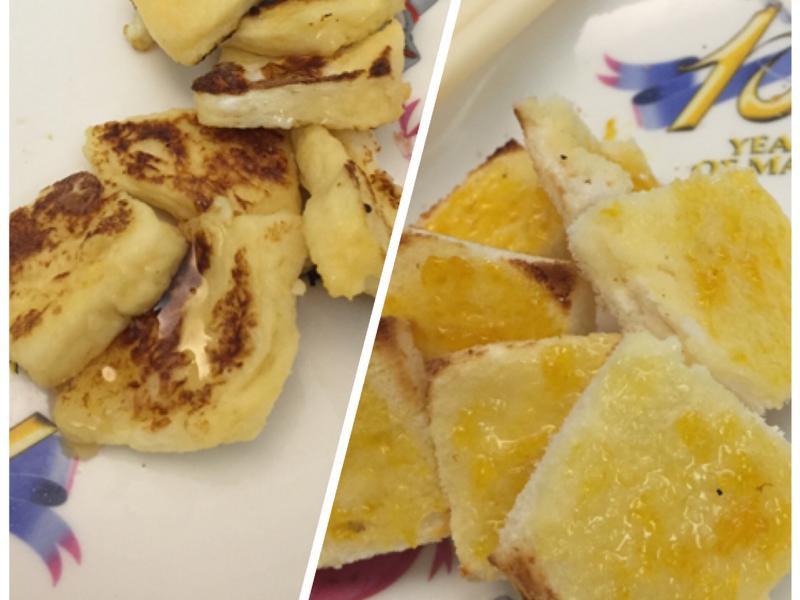 法式吐司~~蜂蜜or果醬 煎式or烤式