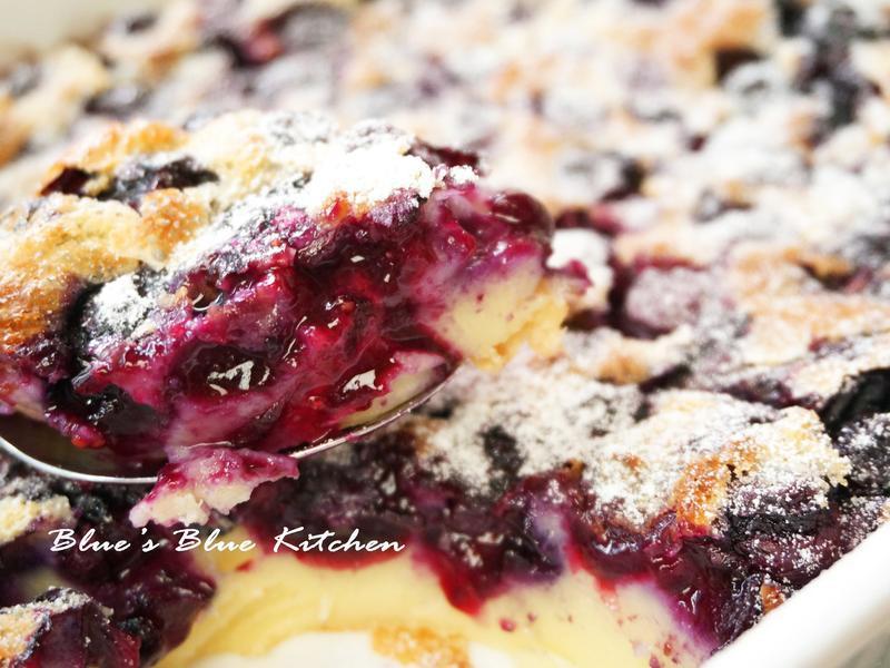 冬日暖心的熱呼呼藍莓蛋糕[免打發]
