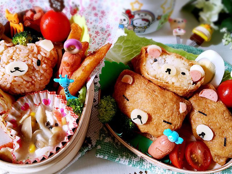 白醬玉米菇菇可愛便當_小七食堂