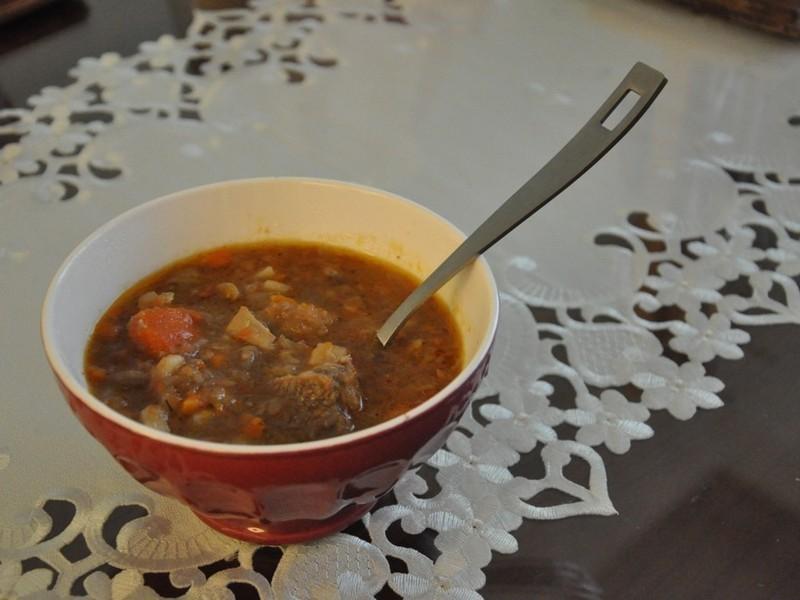 番茄蔬菜牛肉湯