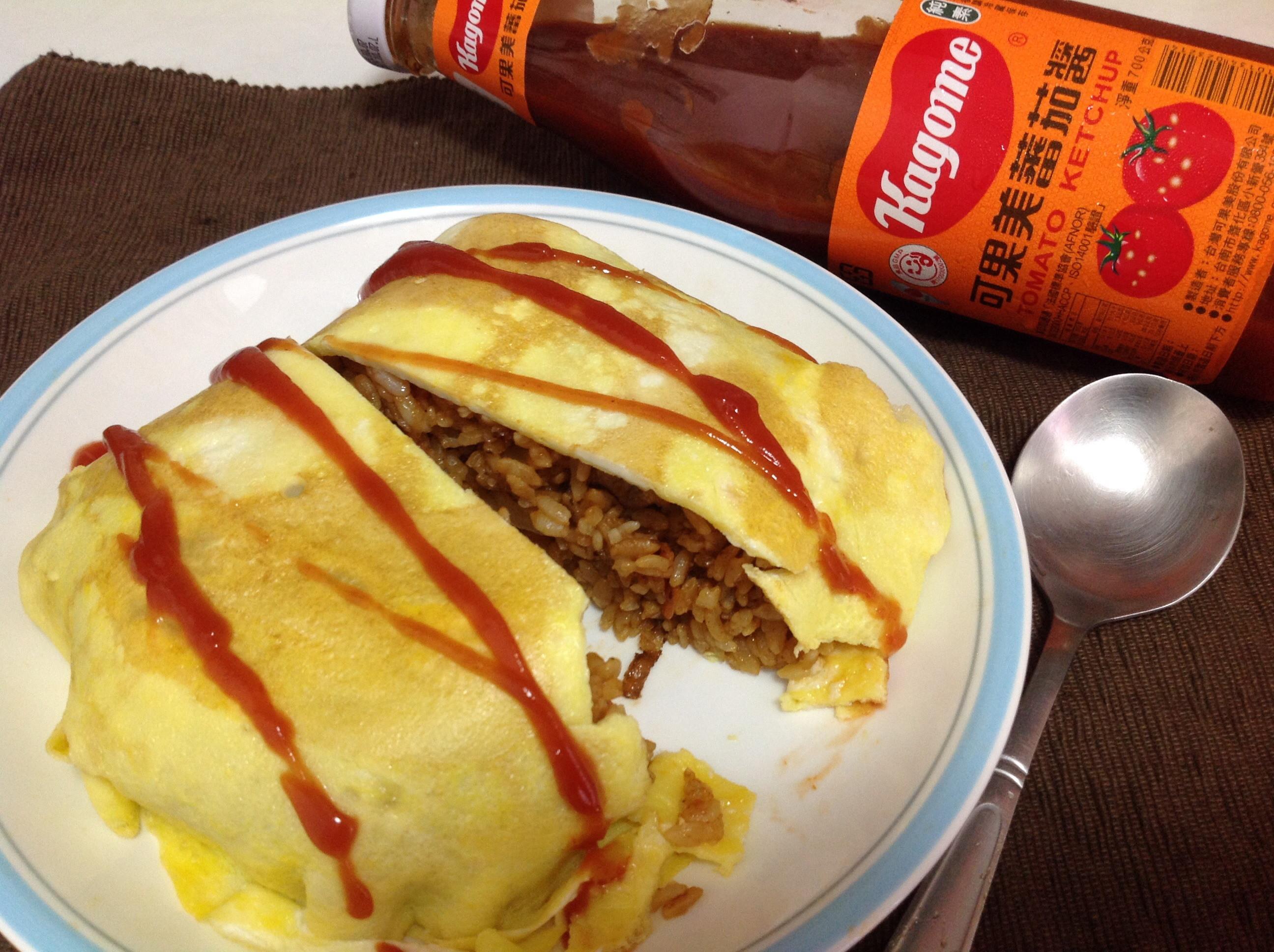 茄汁蛋包飯_蕃茄醬懶人料理