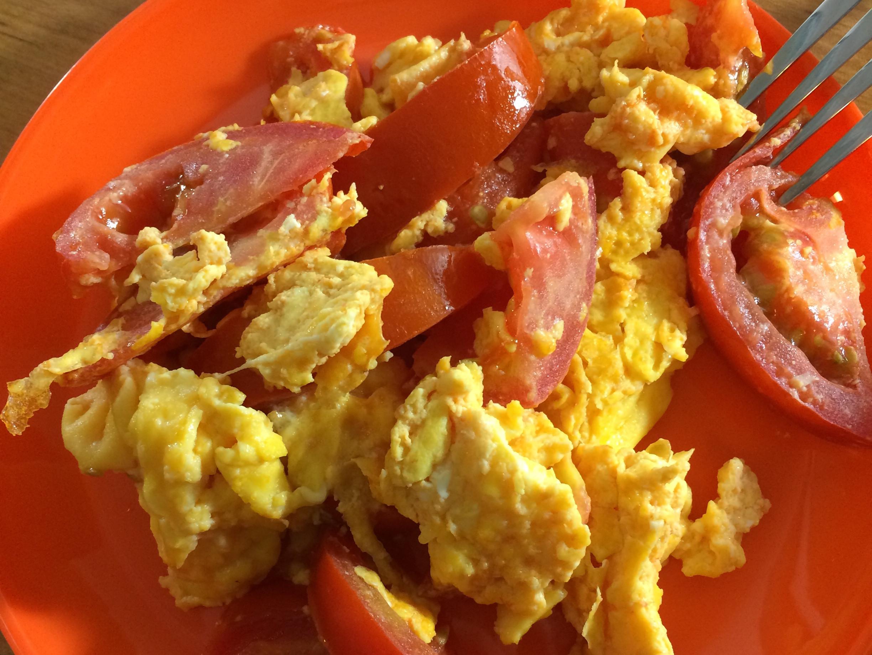 健康快速 -- 番茄炒滑蛋