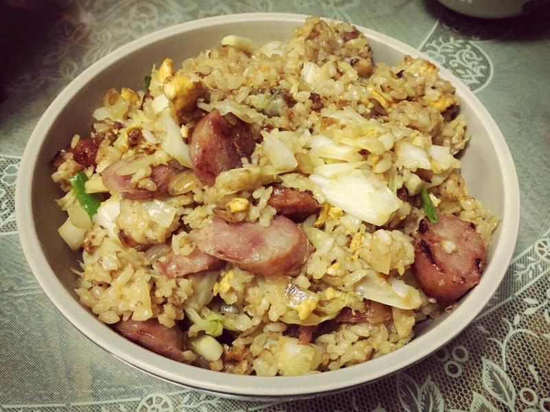 香腸蛋炒飯