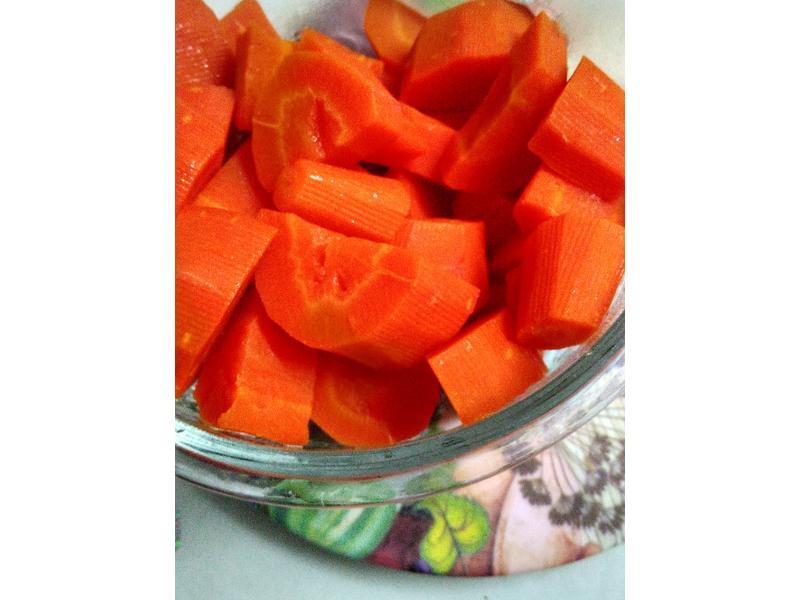 對付挑食小孩的奶油甜紅蘿蔔