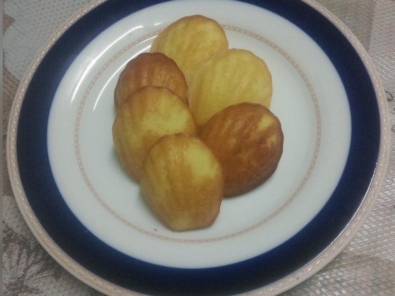 小檸檬瑪德蓮(酵母粉)